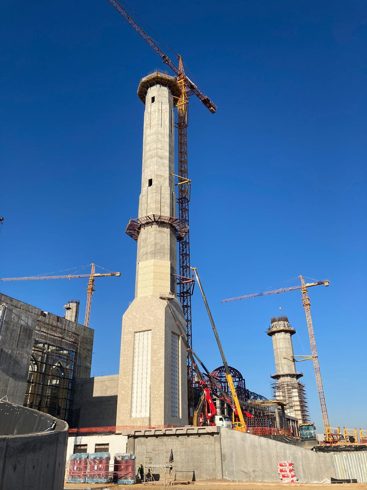 Kazakistan Astana Cami İnşaatı